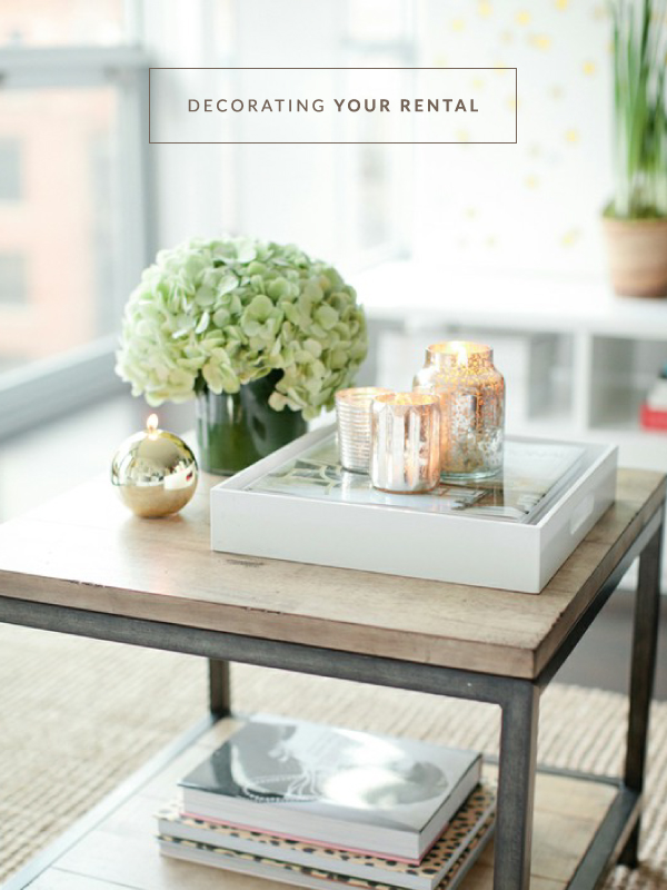 Tips for decorating your rental