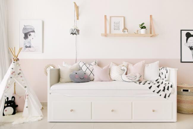 Baby Nursery Pink Grey2